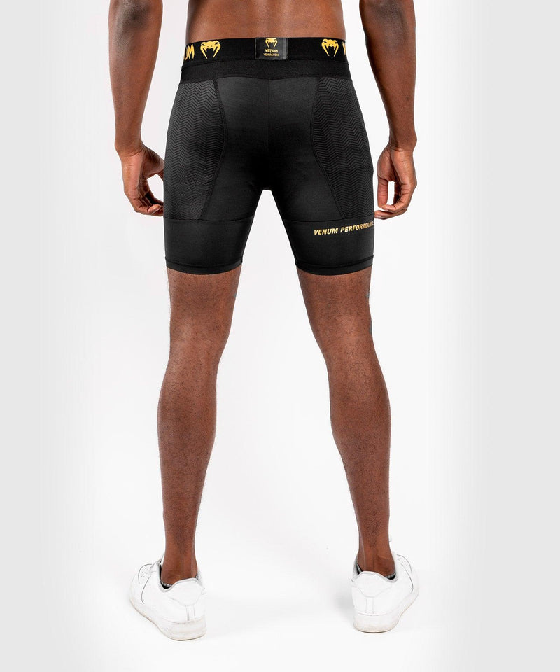 Venum G-Fit Compression Shorts – Black/Gold picture 2