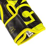 Venum Hammer Pro Boxing Gloves Loma Edition- Velcro – Blue/Yellow picture 5