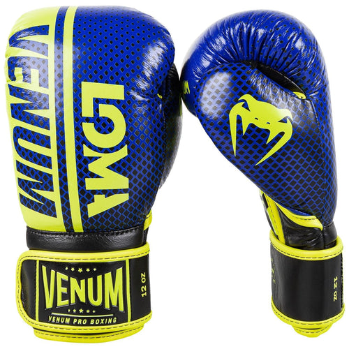 Venum Shield Pro Boxing Gloves Loma Edition - Velcro – Blue/Yellow picture 2