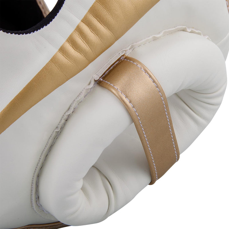 Venum Elite Headgear-White/Gold picture 5