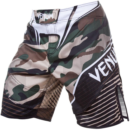 Venum Camo Hero Fightshorts – Green/Brown picture 1