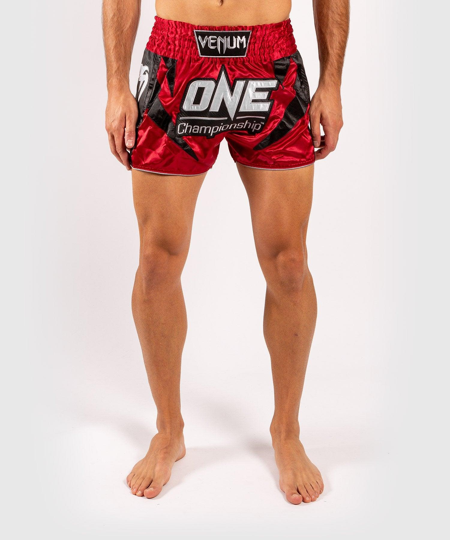 Venum x ONE FC Muay Thai Shorts - Red picture 1