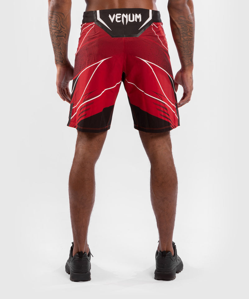 UFC Venum Authentic Fight Night Men's Shorts - Long Fit – Red Picture 2