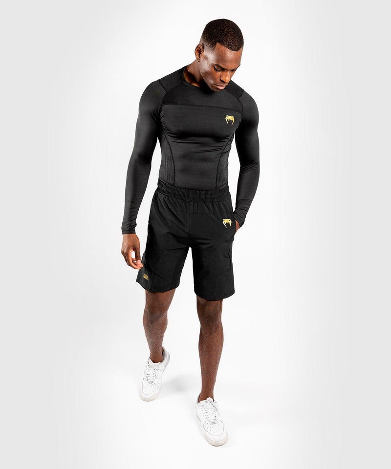 Venum G-Fit Training Shorts – Black/Gold picture 8