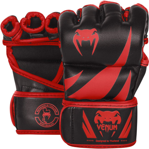 Venum Challenger MMA Gloves - Black/Red – Exclusive picture 1