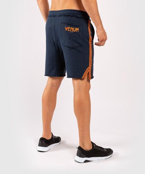 Venum Cutback 2.0 Cotton Shorts - Navy Blue/Orange picture 2