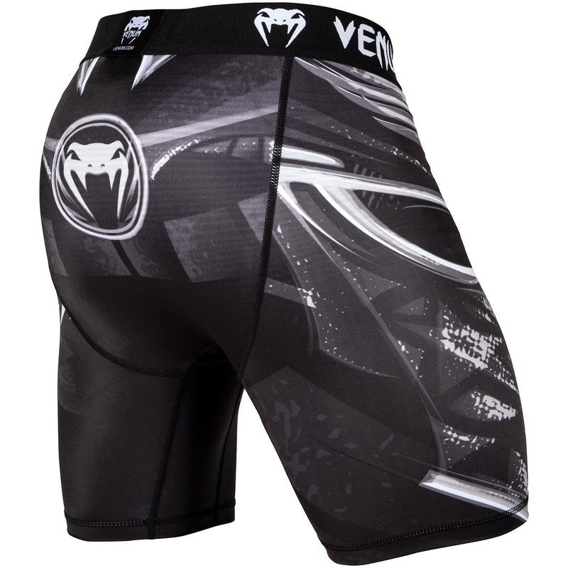 Vale Tudo Shorts Venum Gladiator 3.0 – Black/White picture 3