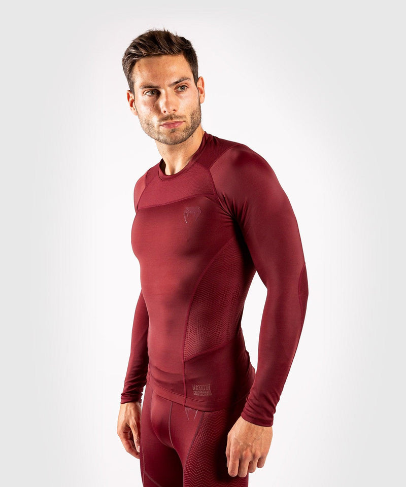 Venum G-Fit Rashguard - Long Sleeves - Burgundy picture 2