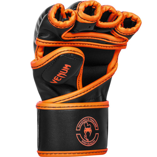 Venum Challenger MMA Gloves - Neo Orange/Black picture 2