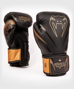 Venum Impact Boxing Gloves - Black/Bronze - picture 1