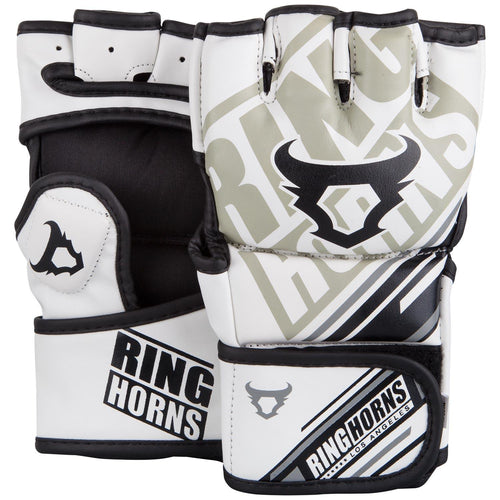 Ringhorns Nitro MMA Gloves - White picture 1