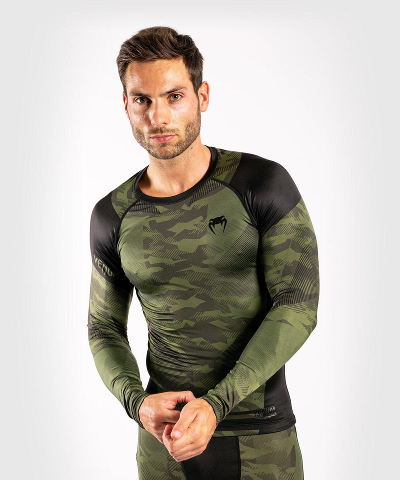 Venum Trooper Rashguard - Long sleeves - Forest camo/Black picture 1