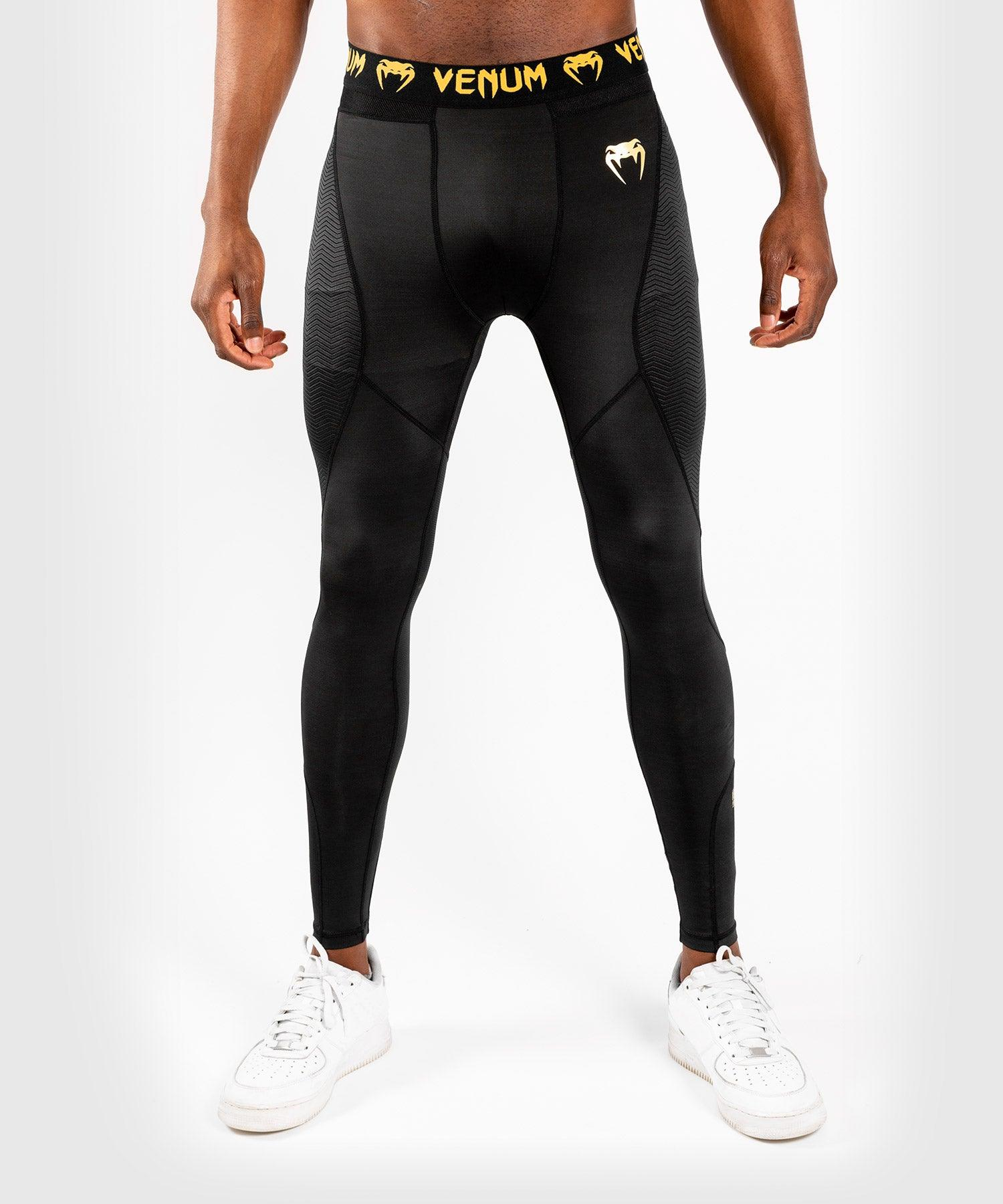 Venum G-Fit Spats – Black/Gold picture 1