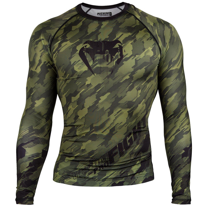 Venum Tecmo Rashguard - Long Sleeves – Khaki picture 1