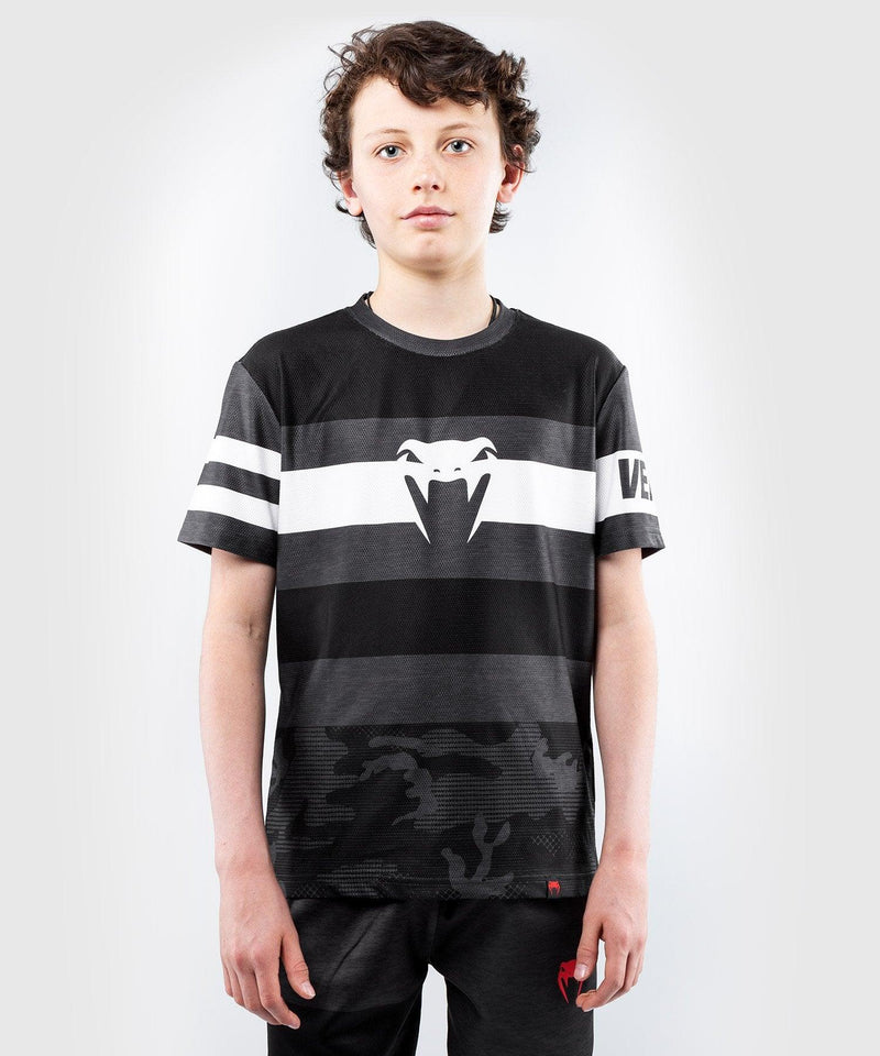 Venum Bandit Dry Tech T-shirt - for kids – Black/Grey