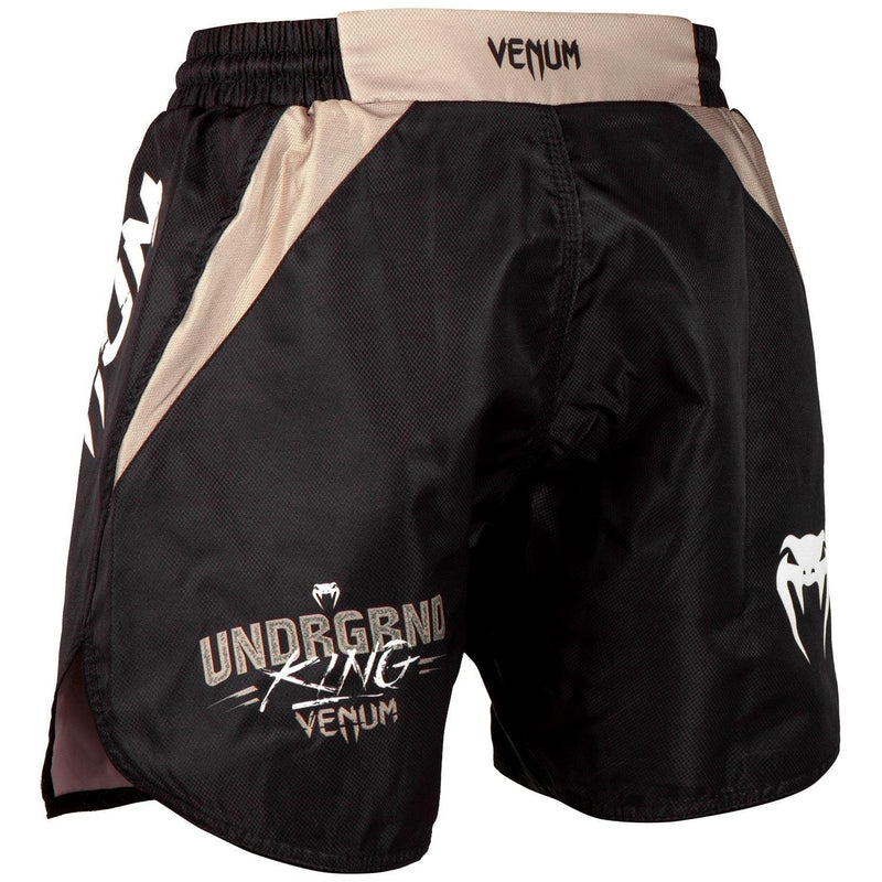 Venum Underground King Fightshorts – Black/Sand picture 3