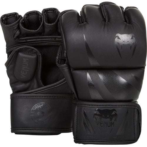 Venum Challenger MMA Gloves – Matte/Black picture 1