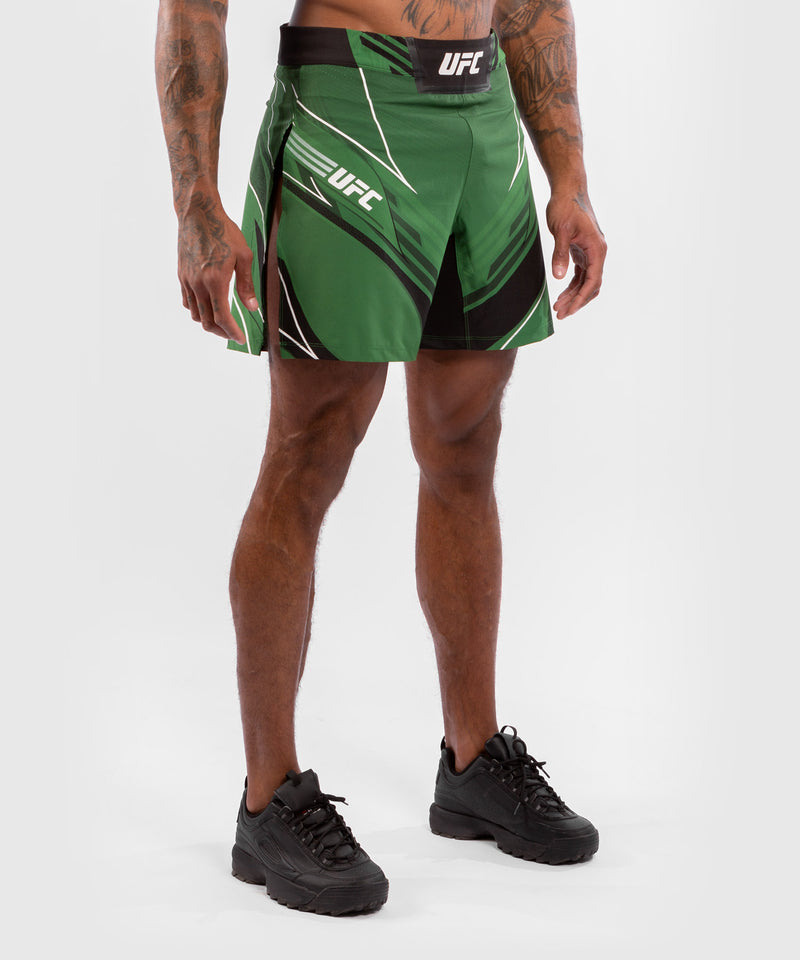 UFC Venum Authentic Fight Night Men's Gladiator Shorts – Green Picture 4