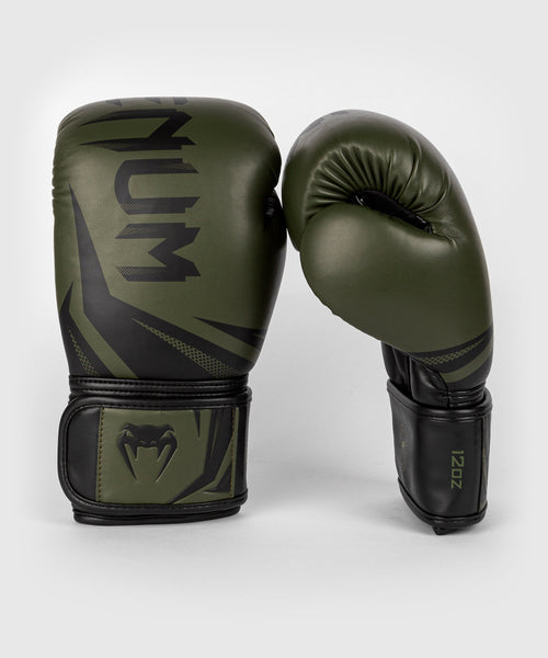 Venum Challenger 3.0 Boxing Gloves - Khaki/Black picture 2