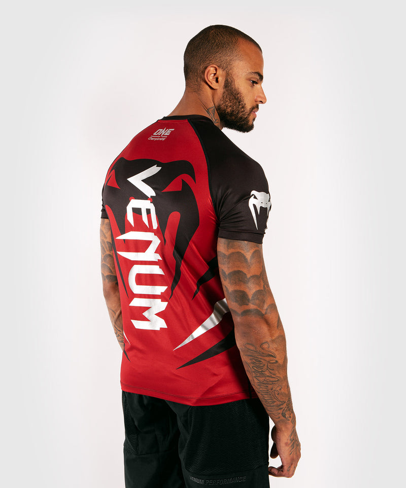 Venum x ONE FC Dry Tech T-shirt - Red picture 4