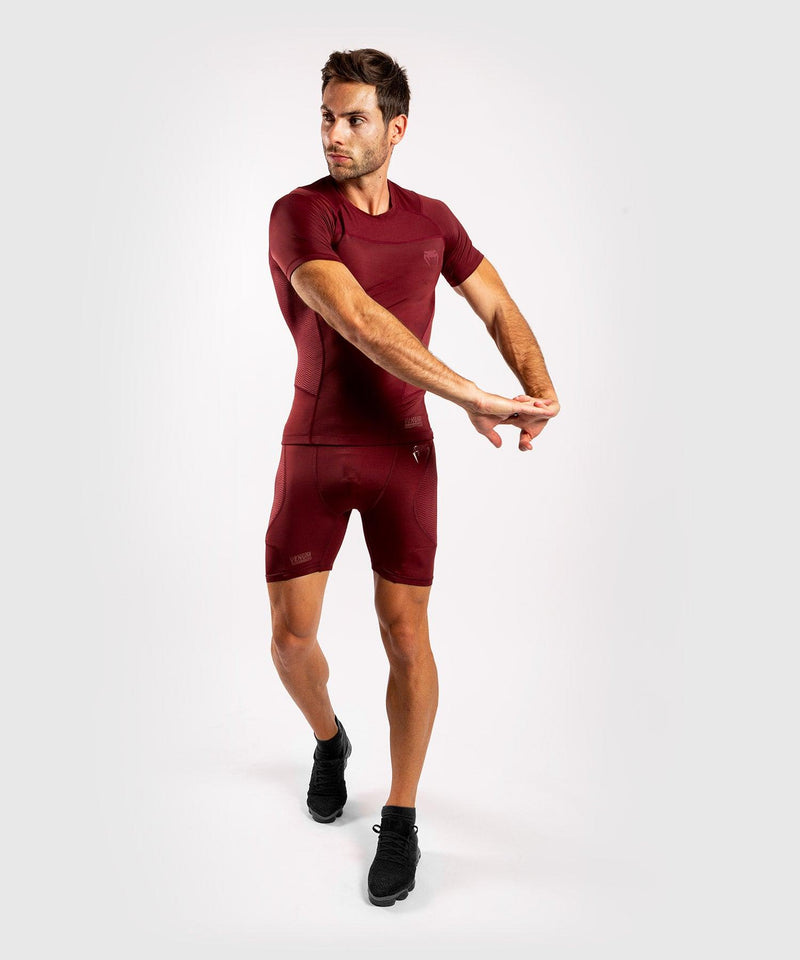 Venum G-Fit Compression Shorts - Burgundy picture 5