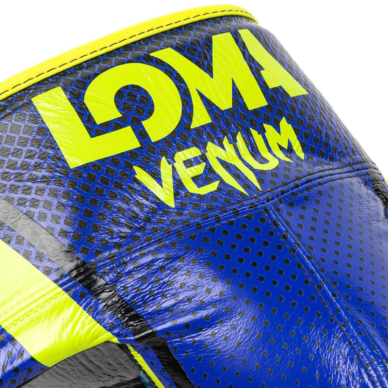 Venum Pro Boxing Protective Cup Loma Edition - Velcro – Blue/Yellow picture 6