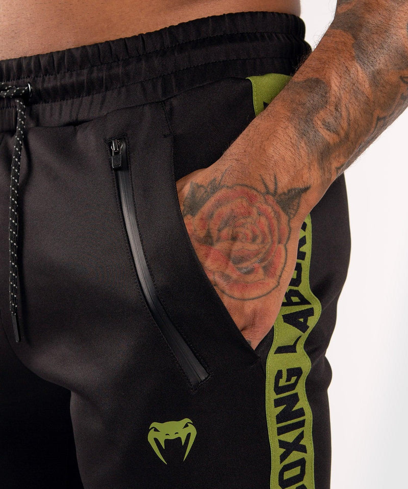 Venum Boxing Lab Joggers - Black/Green picture 5