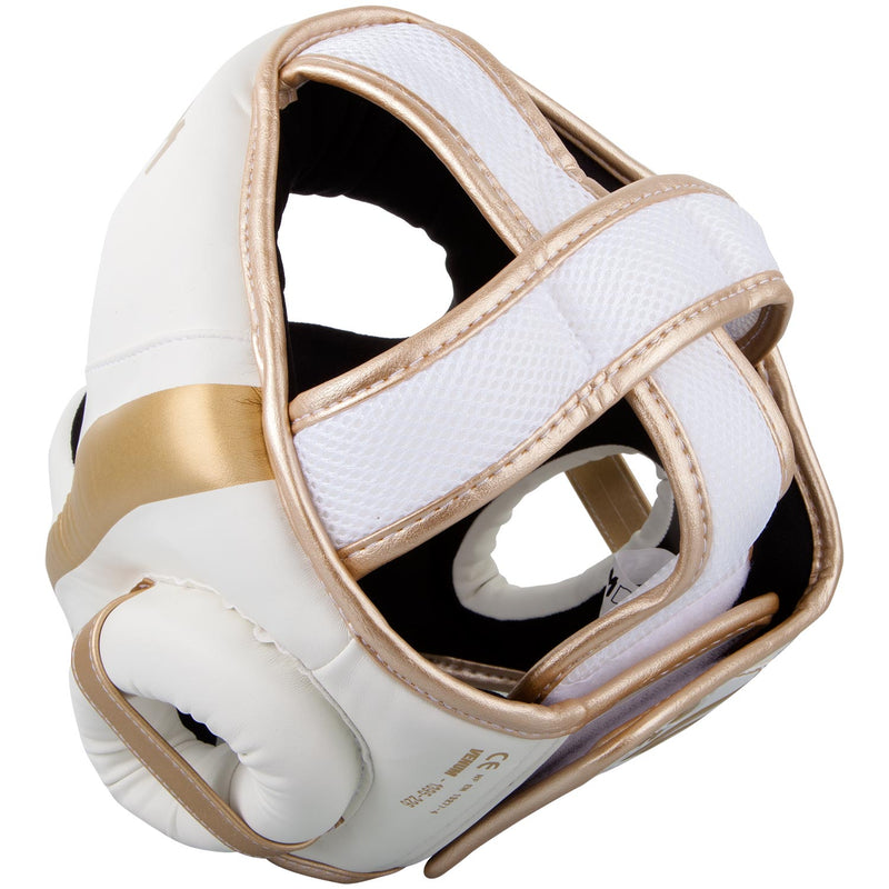 Venum Elite Headgear-White/Gold picture 6