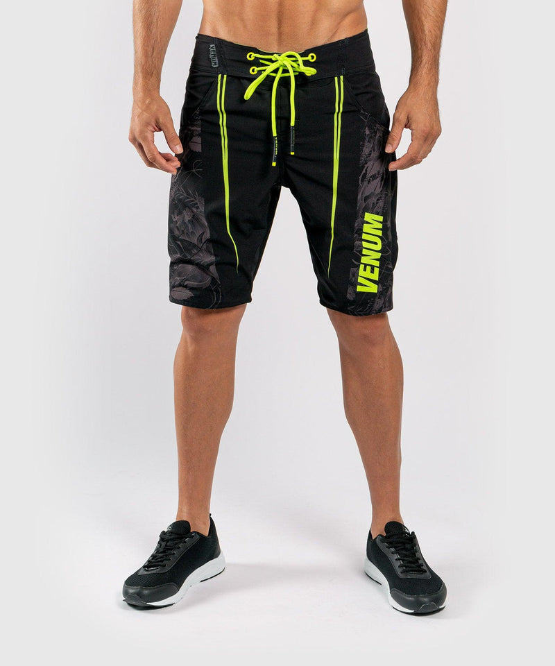 Venum Aero 2.0 Boardshorts - Black/Neo Yellow picture 1