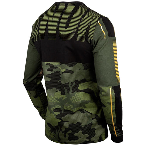 Venum Tactical T-shirt - Long Sleeves - Forest camo/Black picture 3