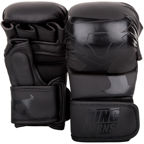 Ringhorns Charger Sparring Gloves - Black/Black picture 1