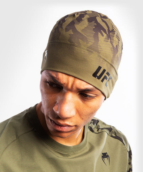 UFC Venum Authentic Fight Week Unisex Performance Beanie – Khaki Picture 1