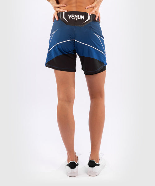 UFC Venum Authentic Fight Night Women's Shorts - Long Fit – Blue Picture 2