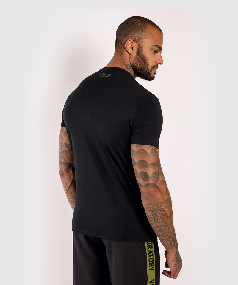 Venum Boxing Lab T-shirt - Black/Green picture 4