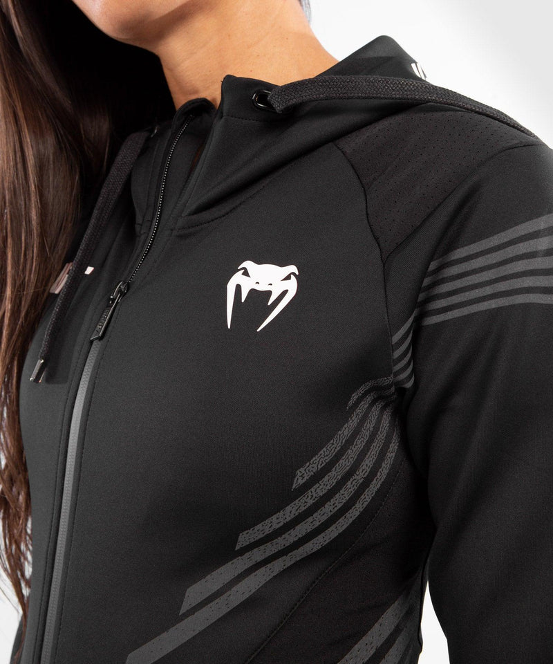 UFC Venum Personalized Authentic Fight Night Women's Walkout Hoodie - Black picture 5