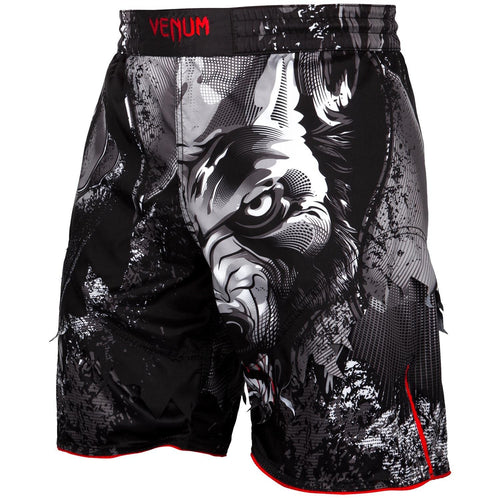 Venum Werewolf Fightshorts - Black/Grey picture 1