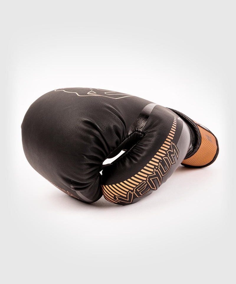 Venum Impact Boxing Gloves - Black/Bronze - picture 4