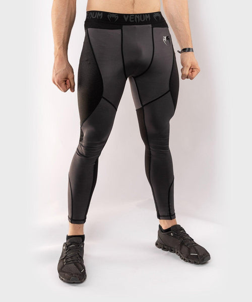 Venum G-Fit Spats – Grey/Black picture 1