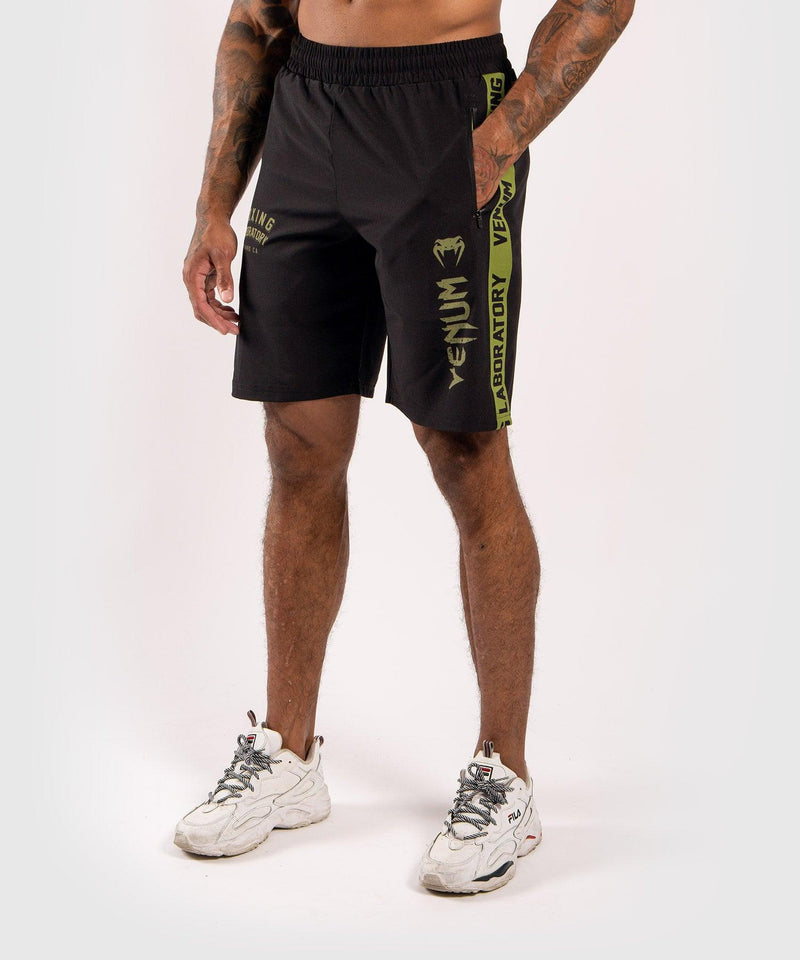 Venum Boxing Lab Fightshorts - Black/Green picture 1