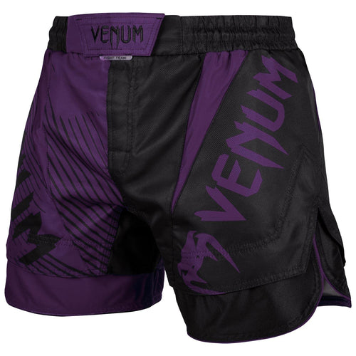 Venum NoGi 2.0 Fightshorts – Black/Purple picture 1