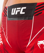 UFC Venum Authentic Fight Night Women's Shorts - Long Fit – Red Picture 5