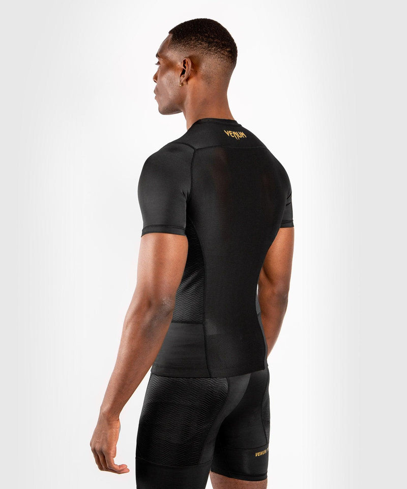 Venum G-Fit Rashguard - Short Sleeves - Black/Gold picture 4