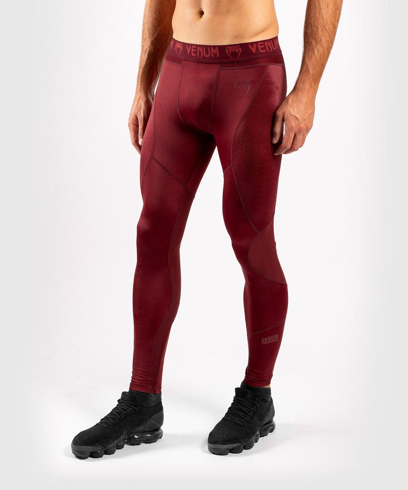 Venum G-Fit Compresssion Tights - Burgundy picture 3