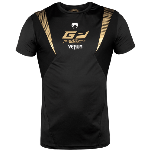 Venum Petrosyan Dry Tech T-shirt – Black/Gold picture 1