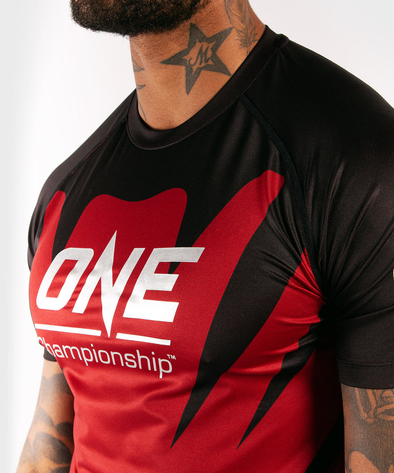 Venum x ONE FC Dry Tech T-shirt - Red picture 6