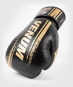 Venum WBC Muay Thai Boxing Gloves - Black/Green - Picture 6