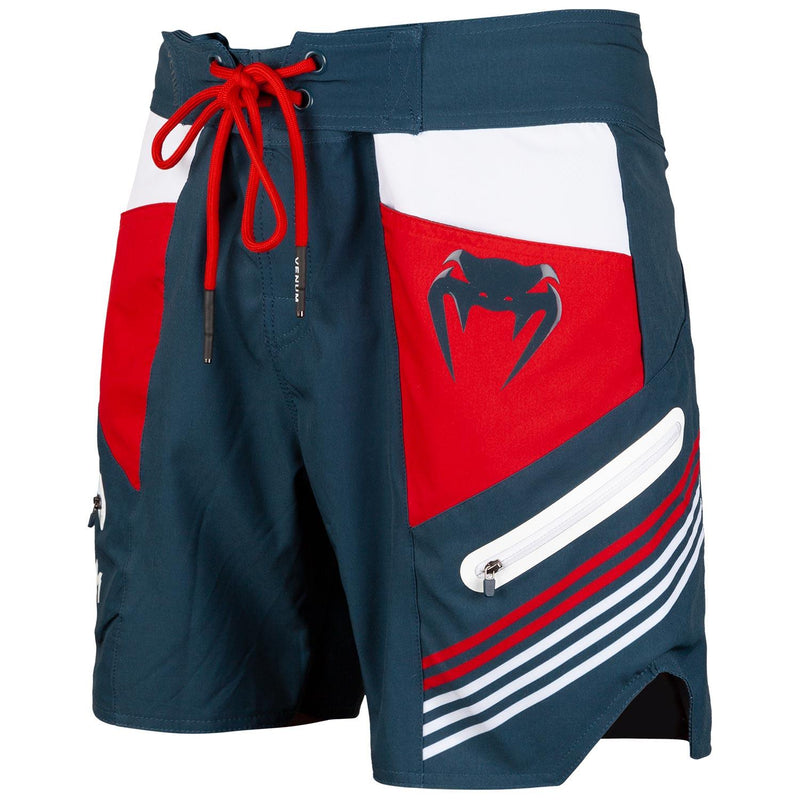 Venum Cargo Boardshorts - Dark blue/Raspberry-White picture 1