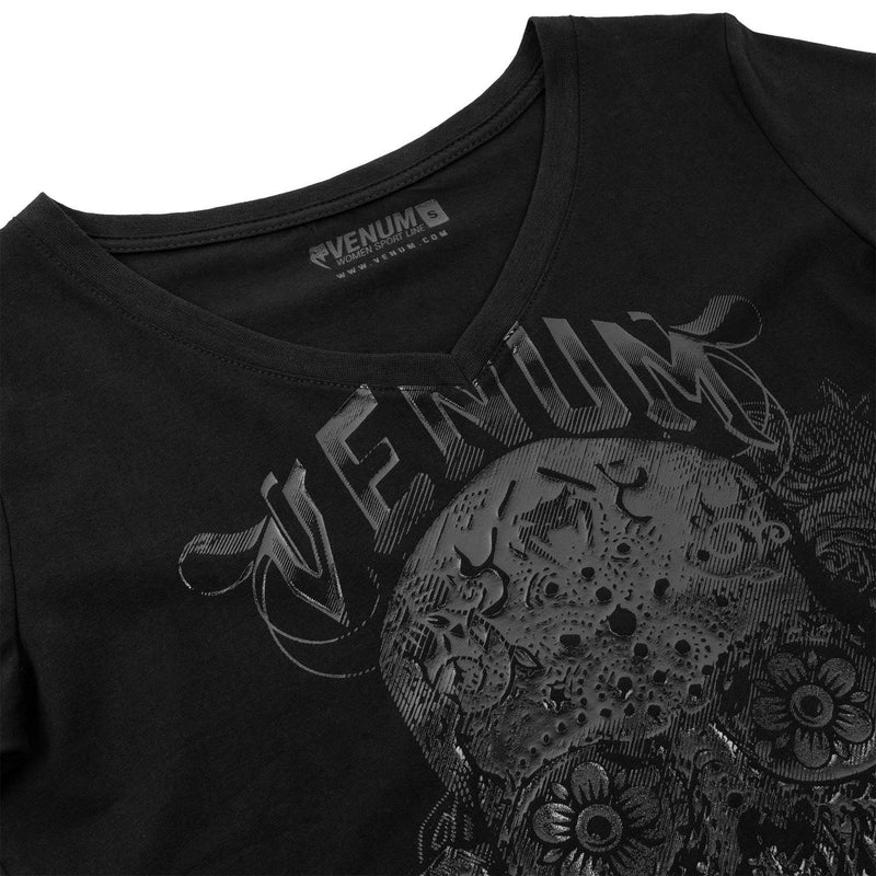 Venum Santa Muerte 3.0 T-shirt - Black/Black - For Women picture 4