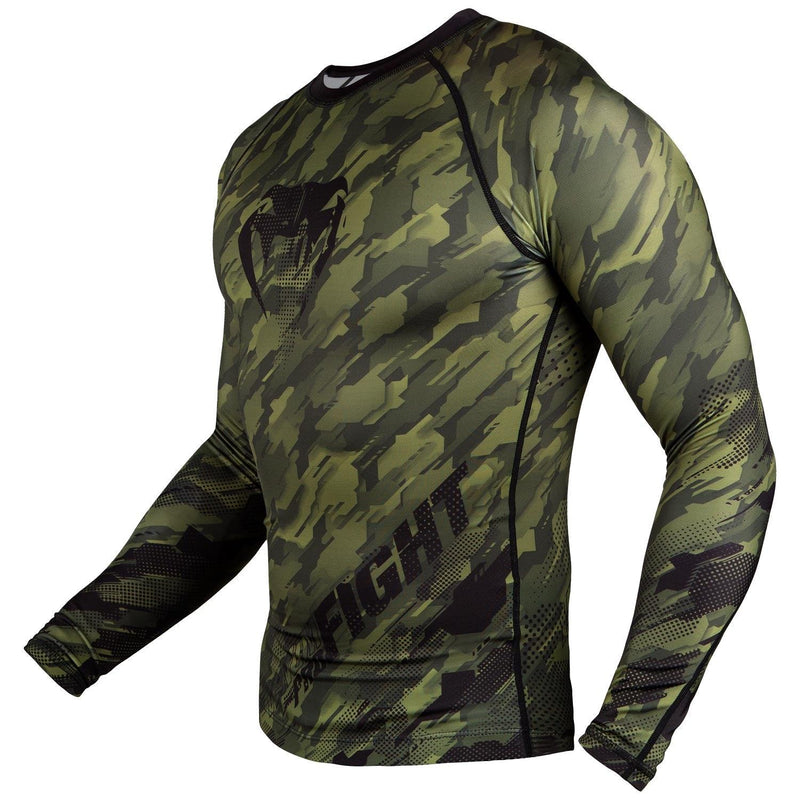 Venum Tecmo Rashguard - Long Sleeves – Khaki picture 3