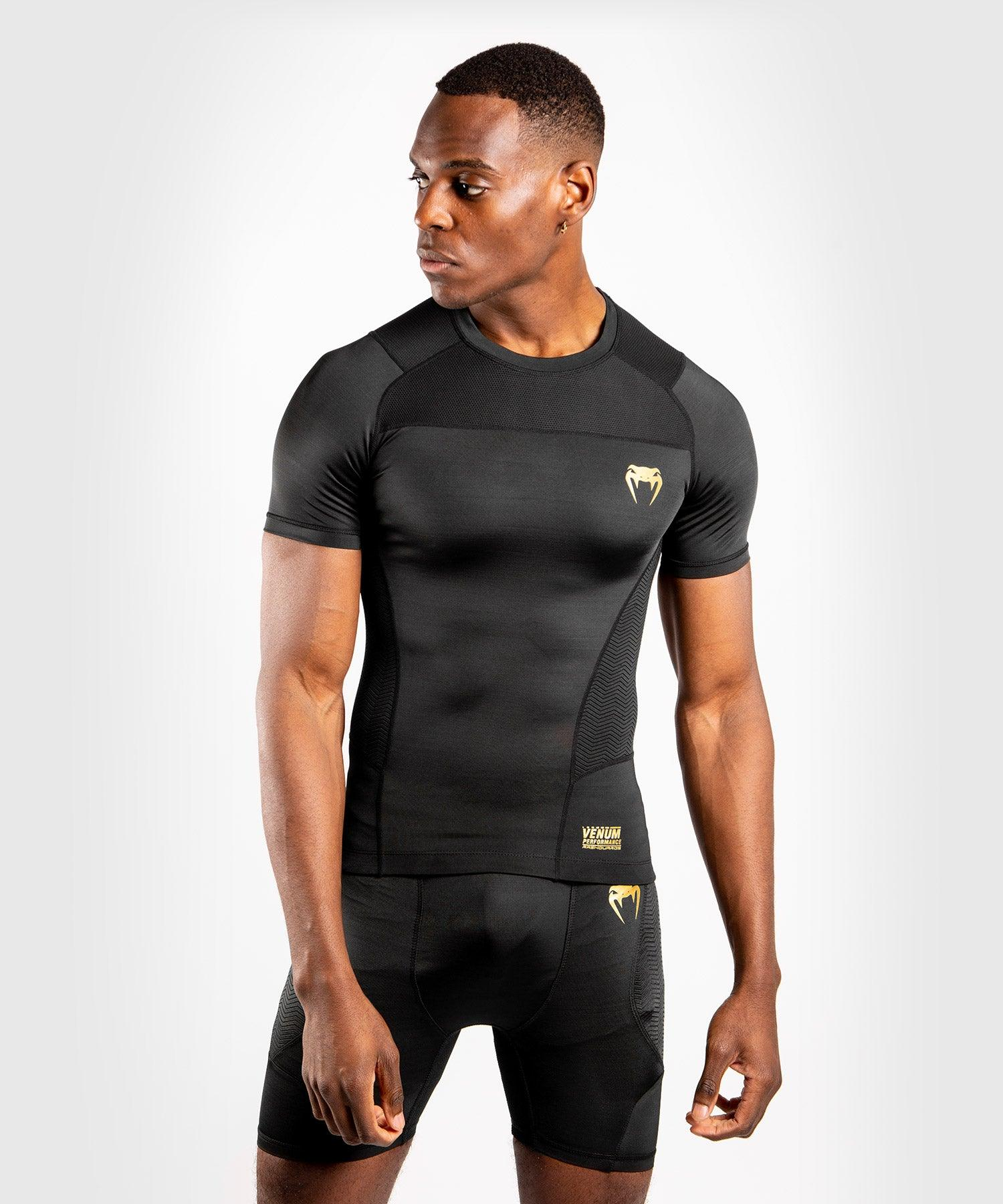 Venum G-Fit Rashguard - Short Sleeves - Black/Gold picture 1